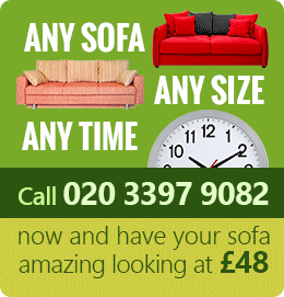 Leytonstone sofa cleaning E11